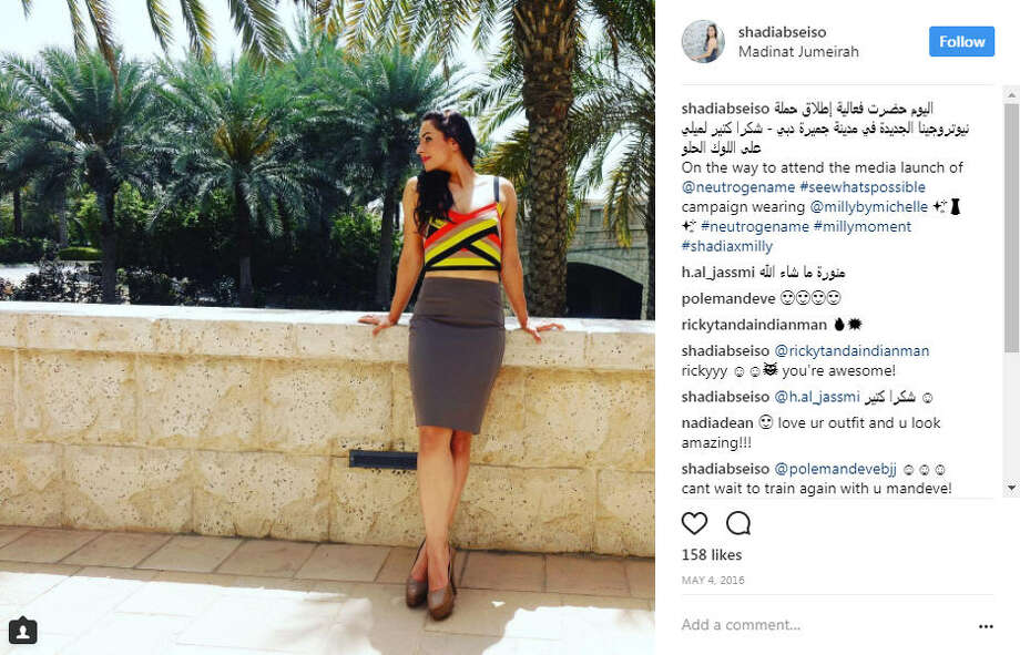 A screenshot of a photo from Shadia Bseiso's Instagram page. The WWE signed Bseiso, making her the first Middle Eastern woman to become a WWE Superstar.Source: Instagram Photo: File/@shadiabseiso Via Instagram
