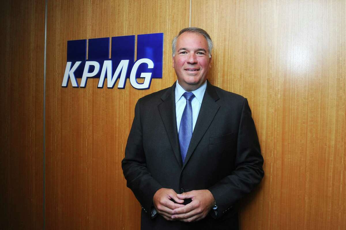 Ken Seel, managing partner of KPMG's Stamford offices, poses for a photo inside the firm's Summer Street offices in Stamford, Conn., on Thursday, Sept. 14, 2017.