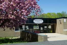 Toquam Elementary. Exterior of Toquam Magnet School in Stamford, Connecticut