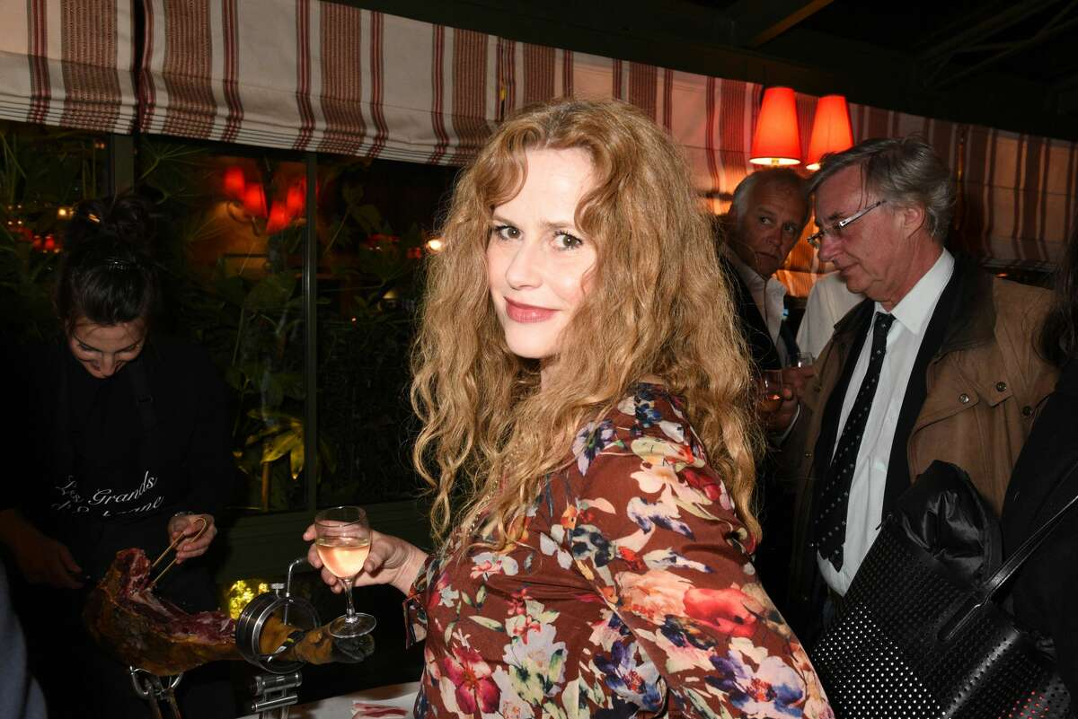 Florence Darel Darel told PEOPLE that in the '90s, Harvey Weinstein propositioned her while his then wife, Eve Chilton, was in the adjacent room.