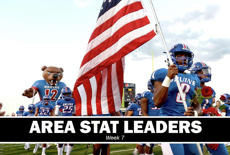 High School Football: Area stat leaders for Week 7. (Kim Brent/The Enterprise)