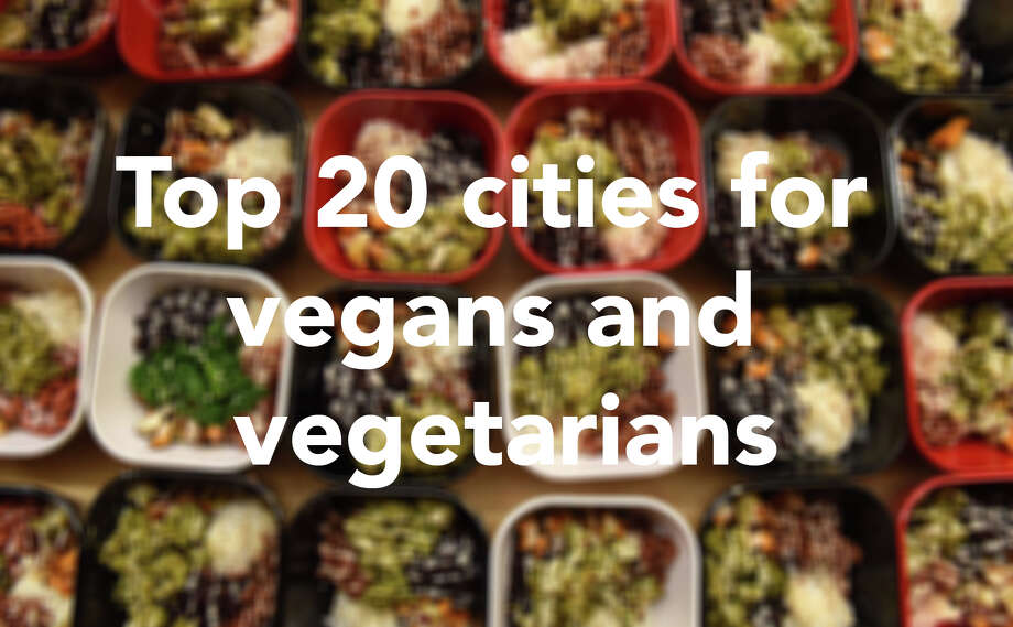 Click through for the Top 20 cities for vegans and vegetarians, as ranked by WalletHub.