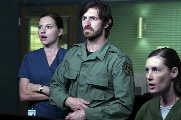 "Jill Flint as Jordan Alexander, Eoin Macken as TC Callahan, Sarah Hagan as CT Tech Althea faced much turmoil in, as it turns out the fourth and final eason of San Antonio-set medical drama ""The Night Shift."" NBC just cancelled the series."