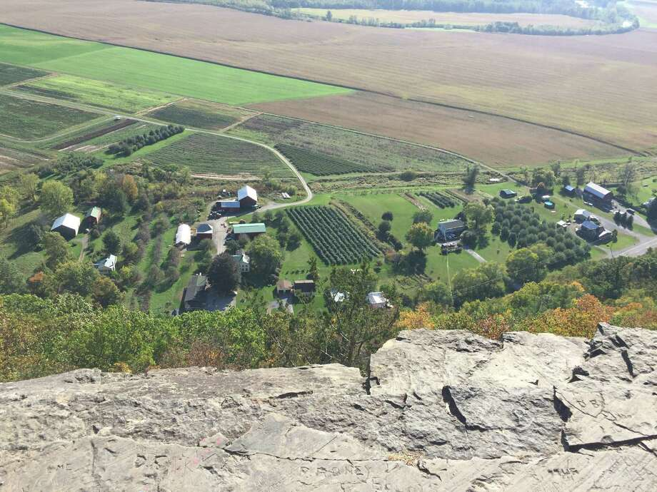 The view of the Schoharie County from Vroman's Rose in Middleburgh on Sunday, Oct. 15. Photo: Mike Goodwin / Times Union