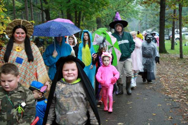 Ghouls, ghosts, pumpkins and everything in between was found during Harvest Festival Weekend at Sleeper State Park in Caseville. Amongst trick or treating in the campground, children enjoyed decorating T-shirts, hayrides and learning a few things about nature.