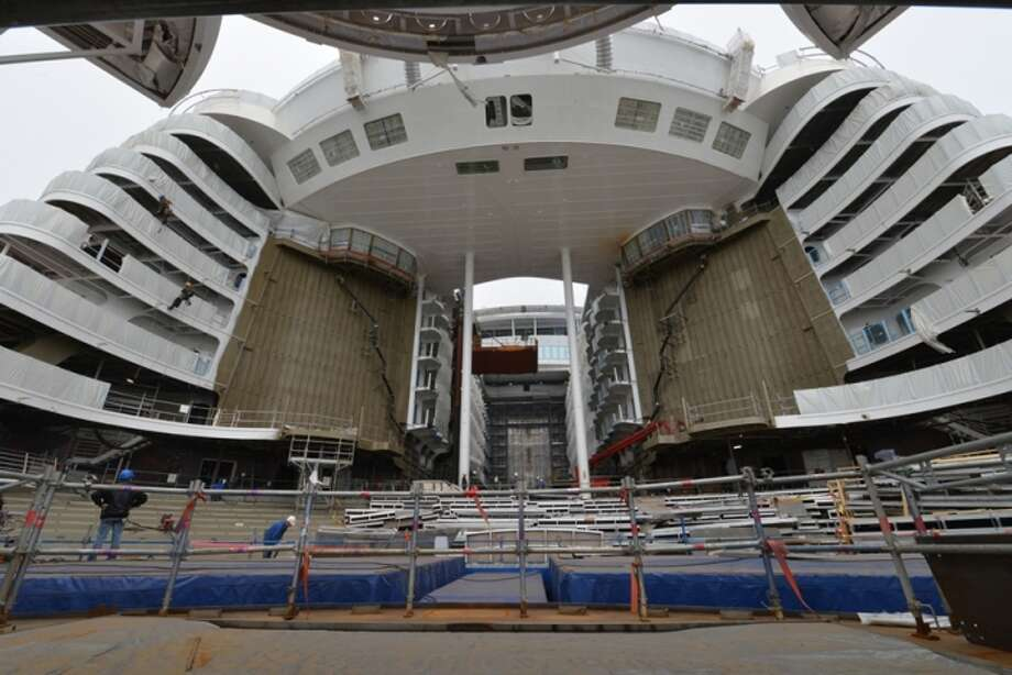 Royal Caribbean's Symphony of the Seas is billed as the largest cruise ship in the world and is set to make its debut in spring 2018. Photo: Royal Caribbean