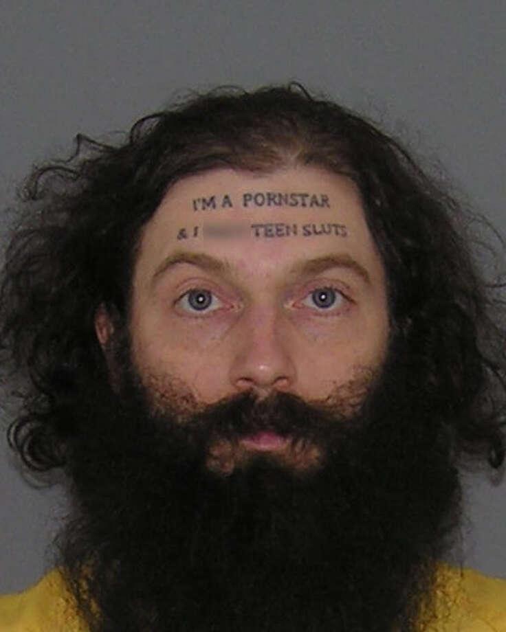 Man With 'I'm A Pornstar' Face Tattoo Arrested