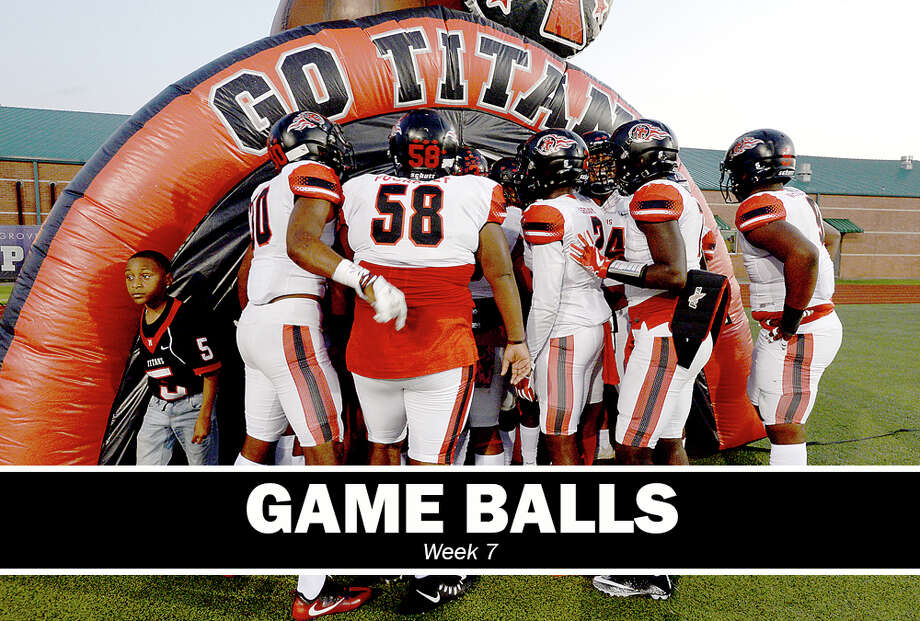 High School Football: Who received Game Balls for Week 7? (Kim Brent/The Enterprise)