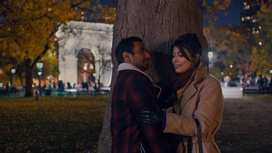 """Aziz Ansari as Dev and Alessandra Mastronardi as Francesca appear in a scene from Netflix's, """"Master of None."""""""