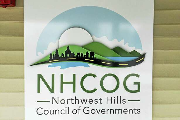 Ben Lambert - The Register Citizen ¬  ¬ The logo of the Northwest Hills Council of Governments, as seen displayed within its headquarters.