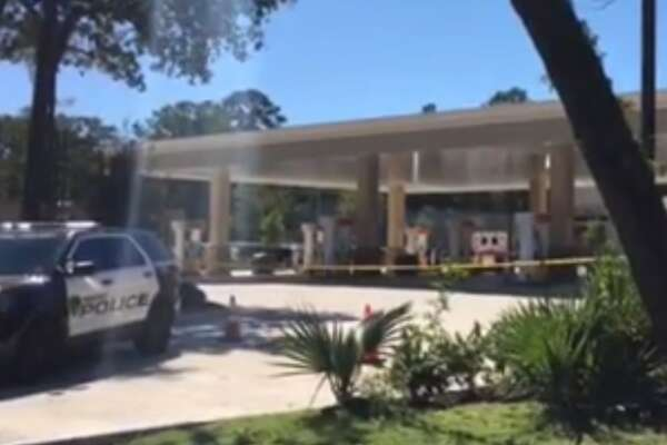 A deputy constable shot and killed a man in Kingwood on Monday afternoon.