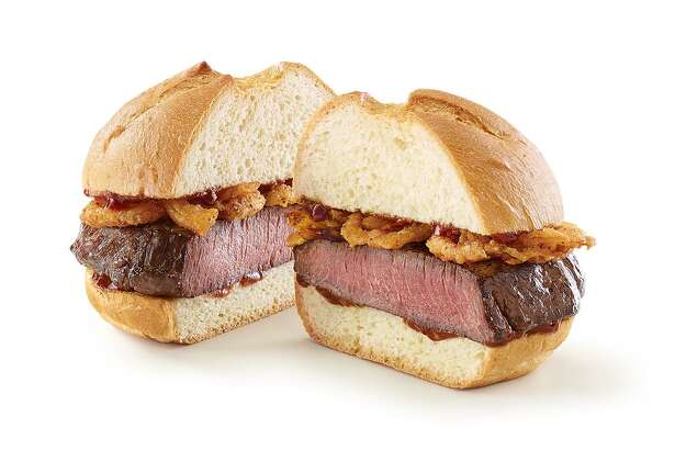 Arby's is launching its limited-edition venison sandwich nationwide on Saturday. The sandwich, which sells for $7, will feature a thick-cut venison steak with crispy onions topped with a juniper berry sauce on a toasted specialty roll.