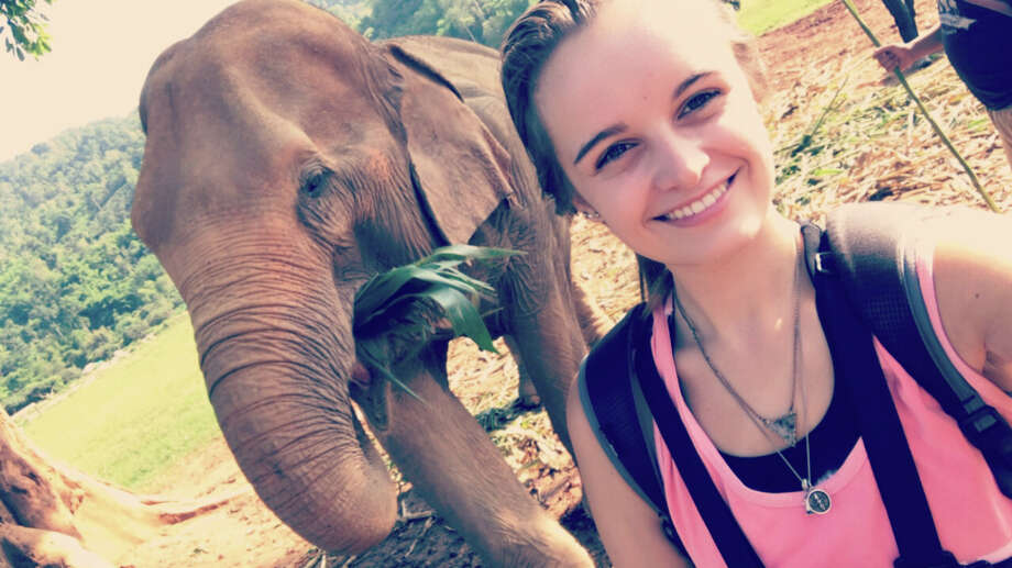 Midland Christian School graduate Presley Miller spent three weeks in June with the Loop Abroad student veterinarian program working to support local animal and nature conservation efforts in Thailand. Photo: Courtesy Photo