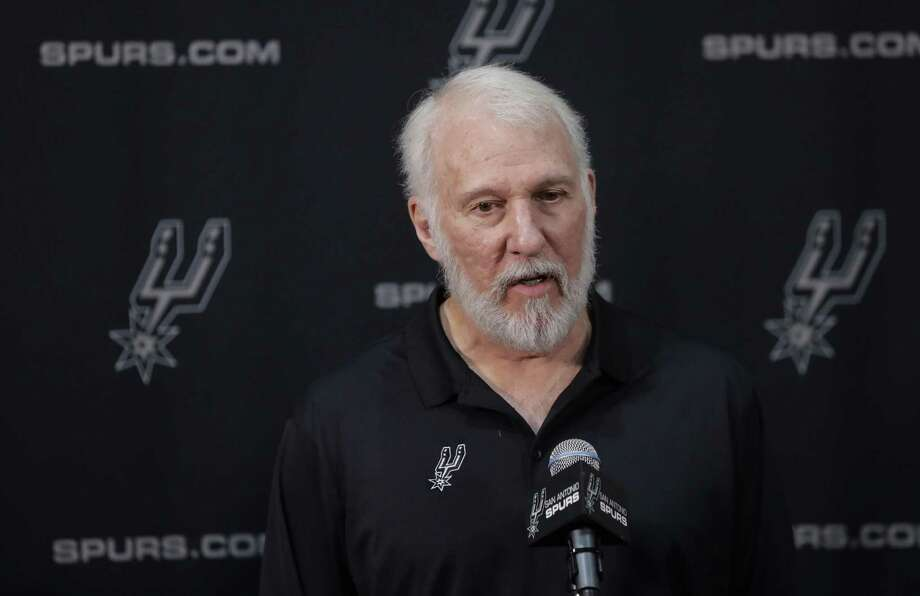 San Antonio Spurs head coach Gregg Popovich was off base with his recent comments about President Trump. Photo: Eric Gay /Associated Press / Copyright 2017 The Associated Press. All rights reserved.