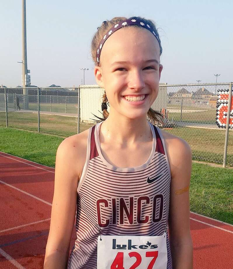 Cinco Ranch freshman Heidi Nielson won the District 19-6A cross country title. Photo: Submitted Photo