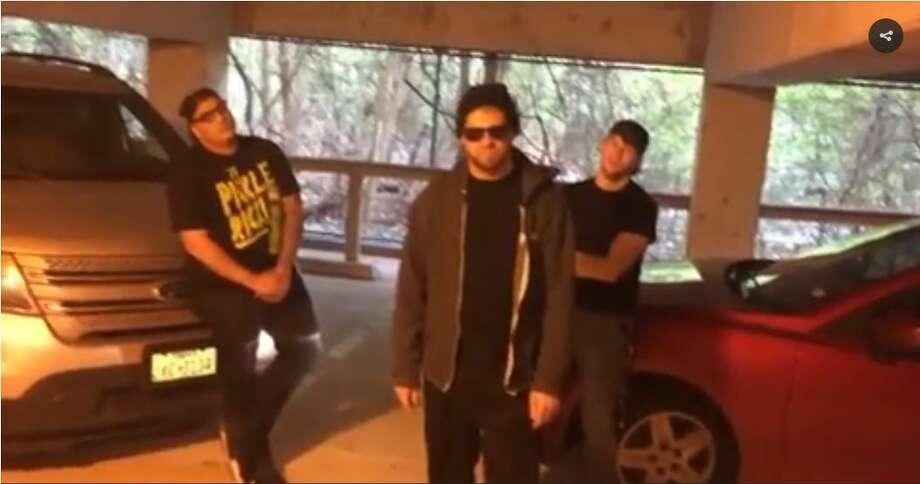 San Antonio-based Billy Madison Show spoofs Eminem's freestyle takedown of Trump.