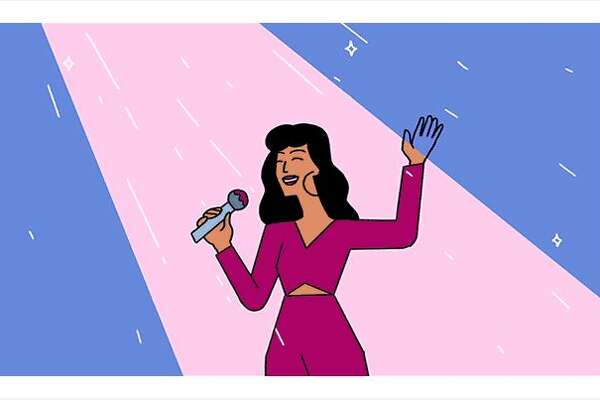 Google unveiled a Selena-themed Doodle on Oct. 17,2017 to commemorate the anniversary of the singer's debut album.