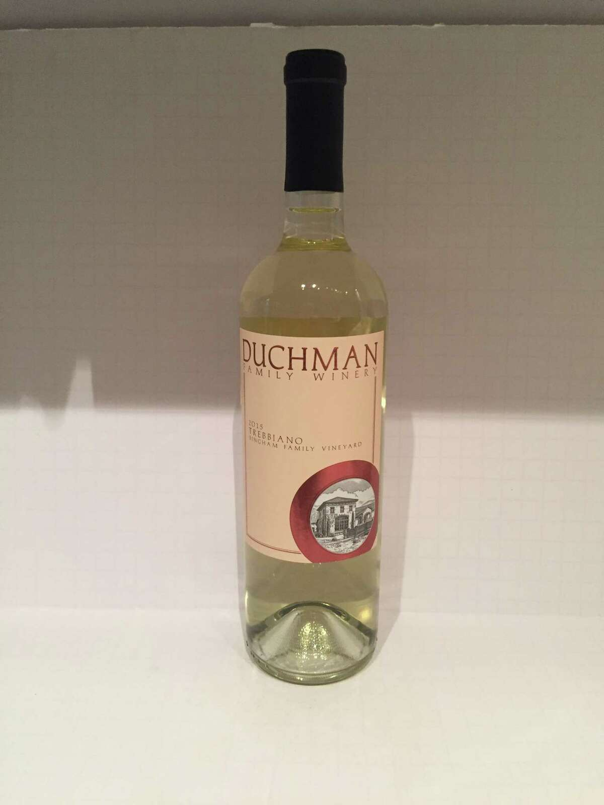 2015 Duchman Family Vineyards Trebbiano
