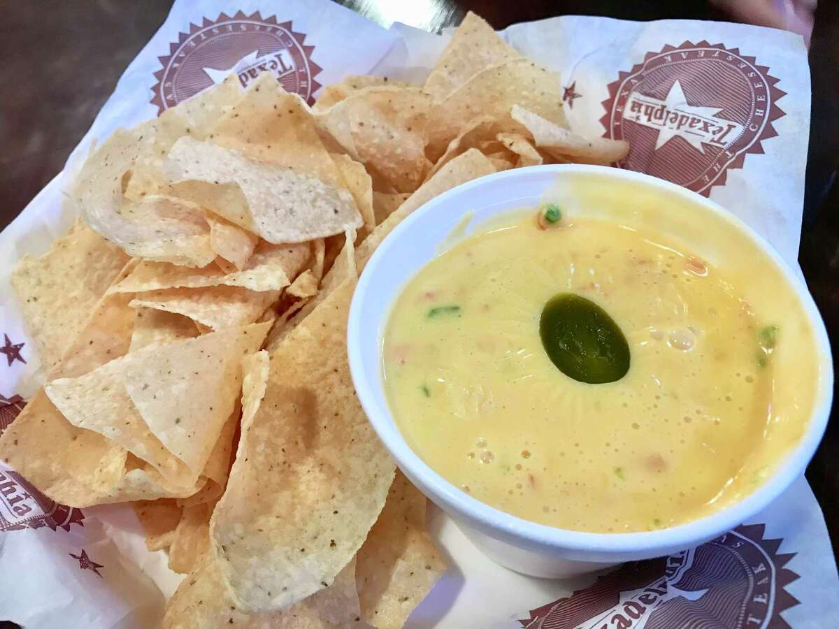 Texadelphia chips and queso