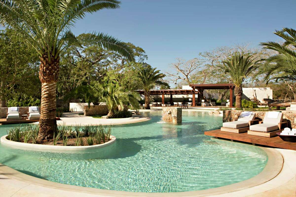 The main pool at Chable Resort & Spa