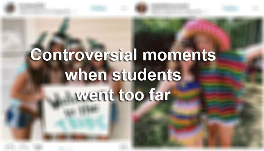 Click ahead for more controversies surrounding students who took it too far.
