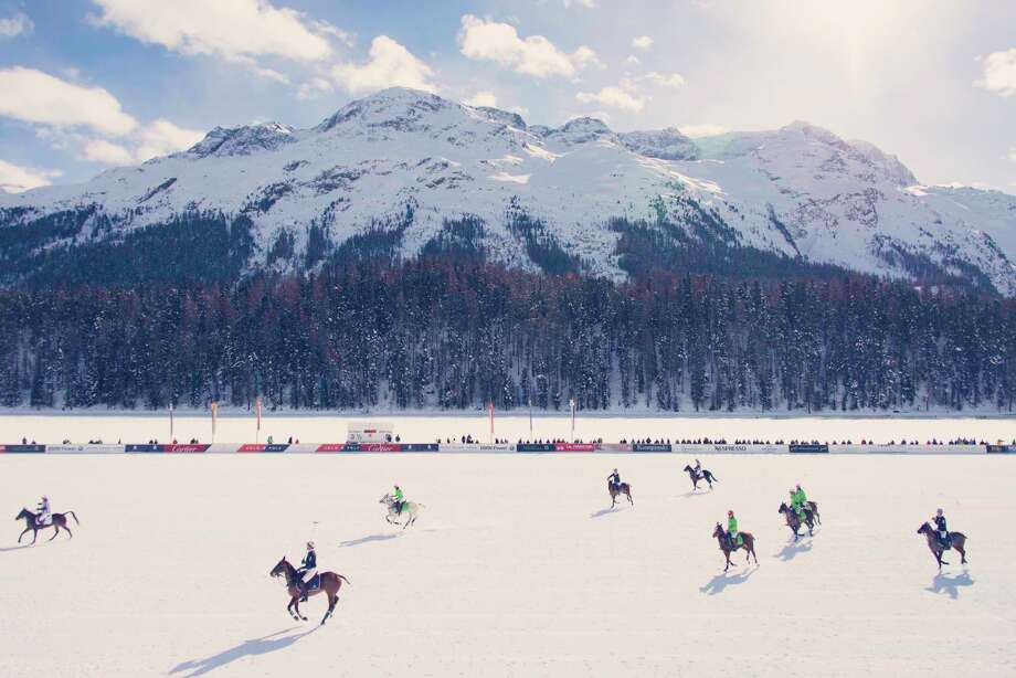 """The Field, St. Moritz,"" by Gray Malin from ""Escapes"" published by Abrams Photo: Â Gray Malin"