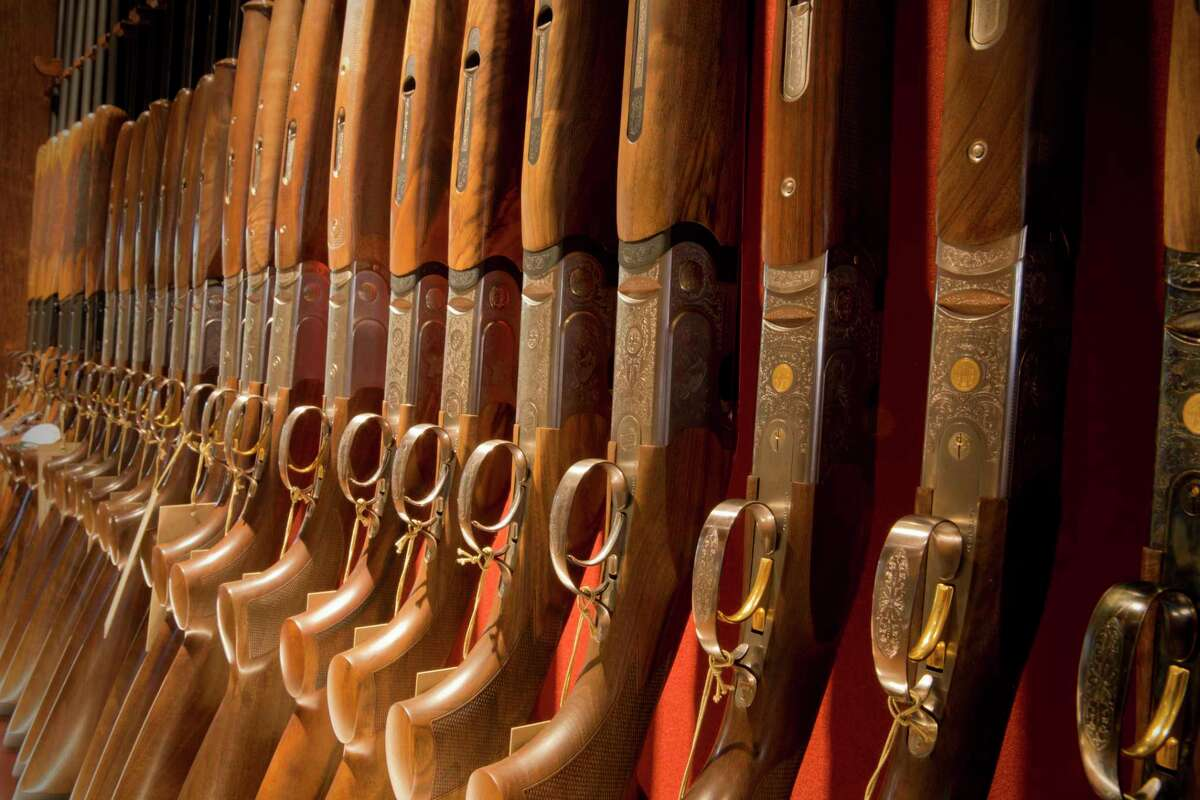 Gordy & Sons Outfitters in Houston stocks high-end hunting and fishing gear.