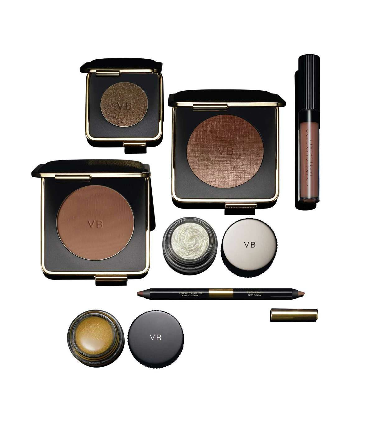 Victoria Beckham x Estee Lauder is a fall/winter 2017 collection of makeup shades by the former Spice Girl. The collection builds on the initial collaboration with Estee Lauder by including setting powder, lip glosses, cream blush, mascara, shadow palettes, both liquid and pencil eyeliners, matte lipsticks, and a multi-purpose gloss