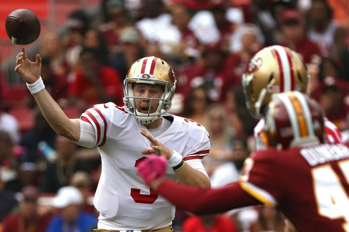 31. San Francisco 49ers (0-6)Previous: 31 The Brian Hoyer era in the Bay Area is over. Long live (rookie from Iowa) C.J. Beathard.