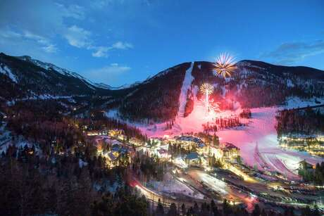 Taos Ski Valley is magical after dark, especially in the winter.