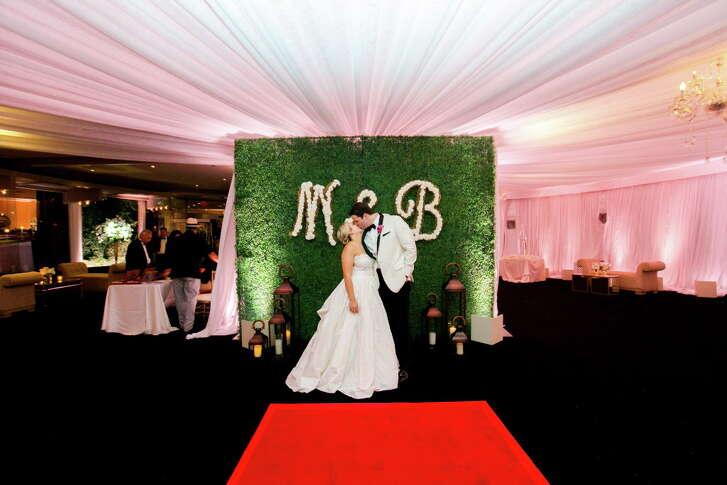 Mari Trevino and Bryan Glass Tony's wedding