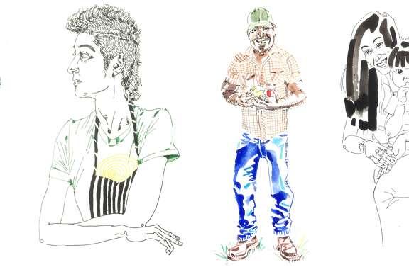 All art by George McCalman