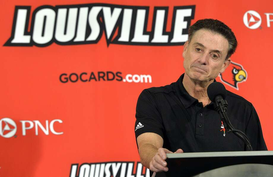 Louisville fired men's basketball coach Rick Pitino over an alleged recruiting scandal at the school. Photo: Timothy D. Easley, Associated Press