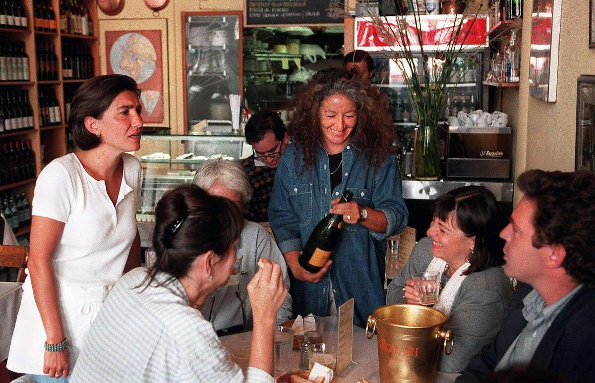 FILE-- L'Osteria del Forno during its 90s heyday.