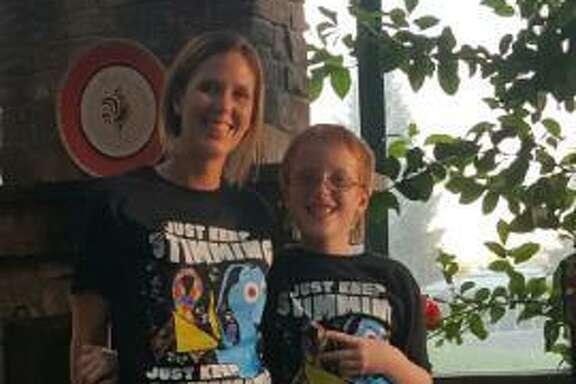 Elise Krawchuk, 37, and her son Aidan, 11. Aidan attended the Santa Rosa branch of Anova School.
