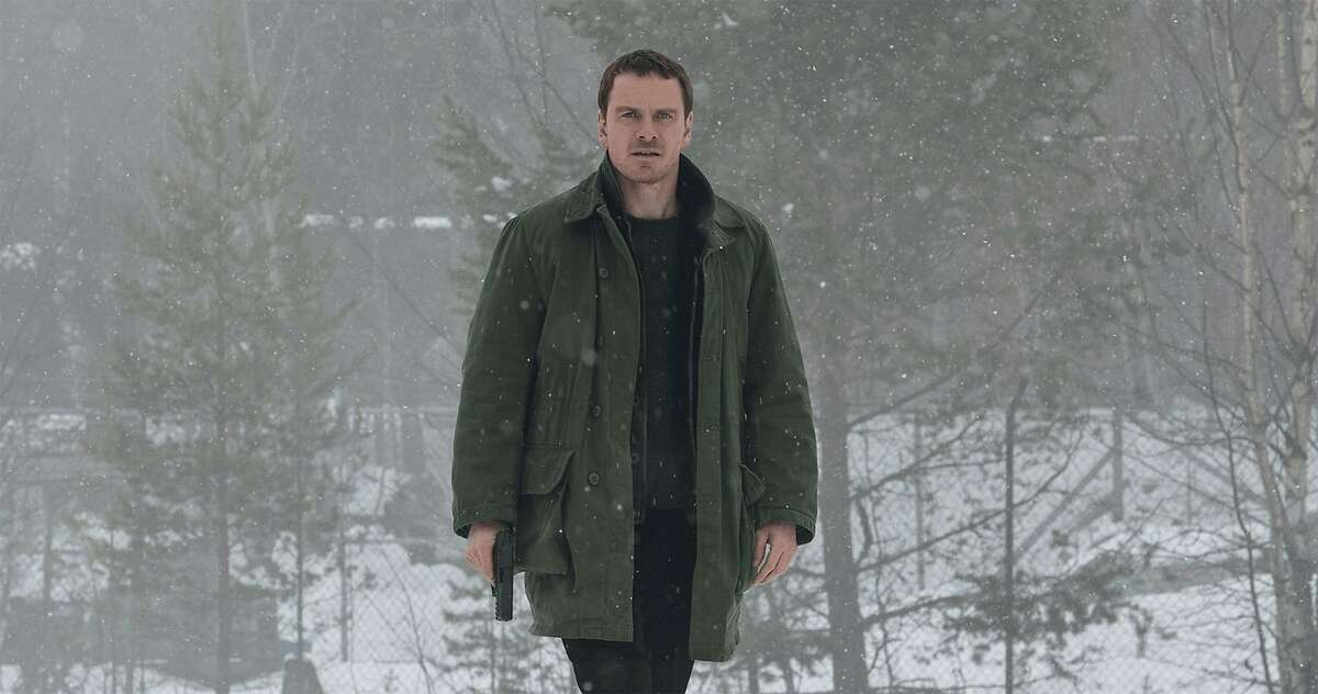 """Michael Fassbender in """"The Snowman."""" (Universal Pictures)"""