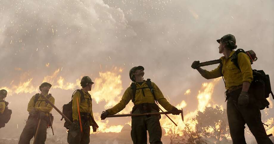 """""""Only the Brave"""" tells the story of firefighting heroism. Photo: Associated Press"""