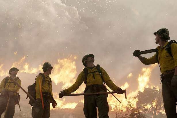 "This image released by Sony Pictures shows a scene from ""Only the Brave."" (Sony Pictures via AP)"