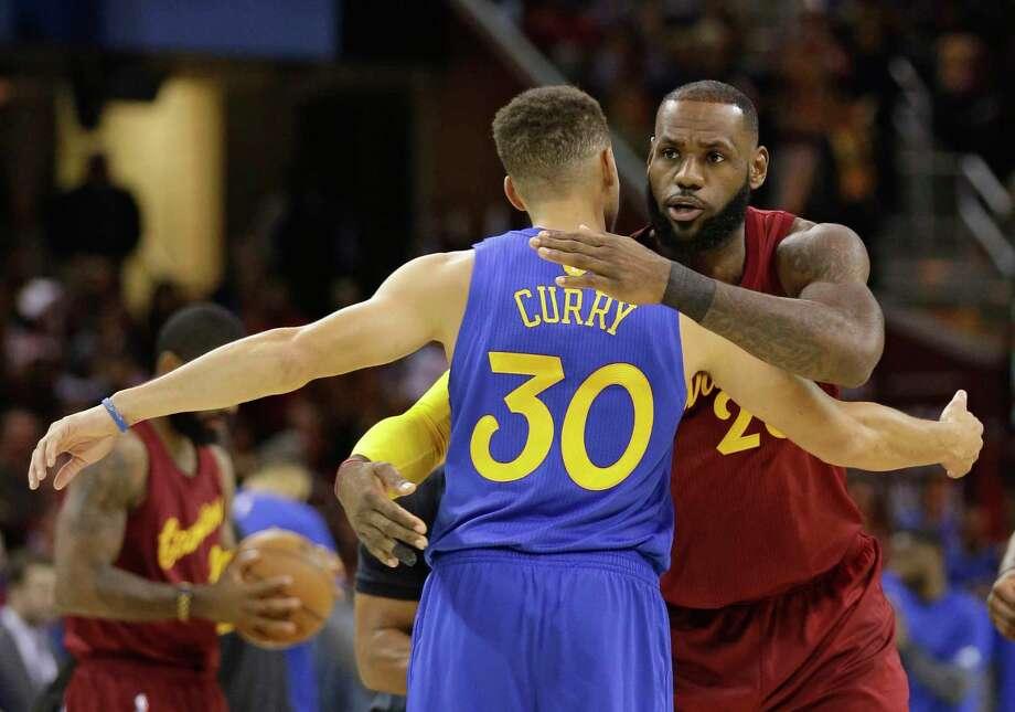 new concept 5d14d 0022c NBA: Cavs, Warriors gear up to begin championship quests ...