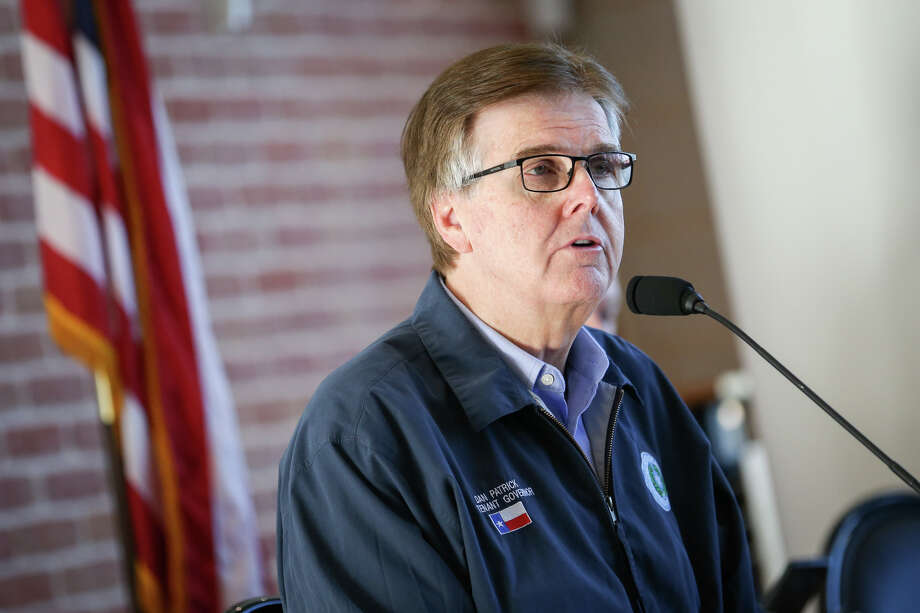 Lt. Gov. Dan Patrick speaks during the Texas Senate Committee on Agriculture, Water, and Rural Affairs interim hearing on Monday, Oct. 16, 2017, at the East Montgomery County Improvement District in New Caney. Photo: Michael Minasi, Houston Chronicle / © 2017 Houston Chronicle