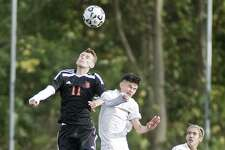Westhill High School boys soccer vs. Stamford High School, played at Westhill on Monday.