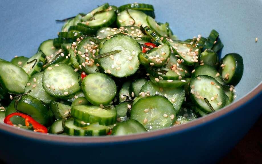 Cucumber Namul Photo: Michael Macor, The Chronicle