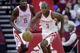 Incoming star point guard Chris Paul is teaming up with James Harden this season as the Rockets hope they will take the next step this year.