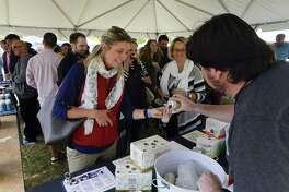 The Last Taste of Summer Craft Beer Festival in Greenwich, Connecticut on Saturday, Sept. 30, 2017. For the first time in 2016, craft brews accounted for one of every 10 cases sold in the United States, according to the Norwalk-based Beverage Information Group.