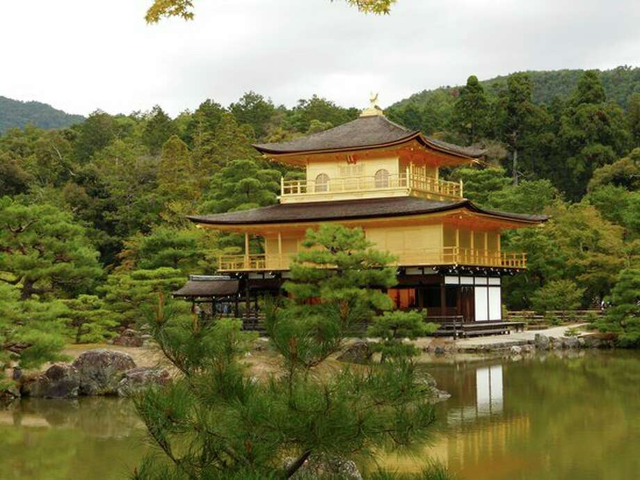 This is a Zen Buddhist temple called Kinkaku-ji, a popular tourist attraction in Kyoto, Japan. (Submitted Photo)