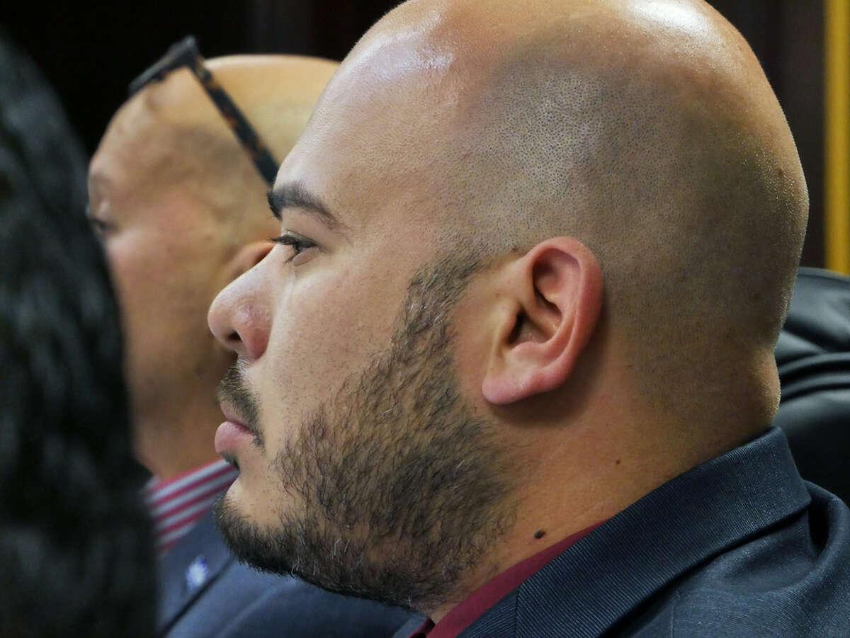 District 2 City Councilman Vidal Rodriguez, at Monday's City Council meeting.