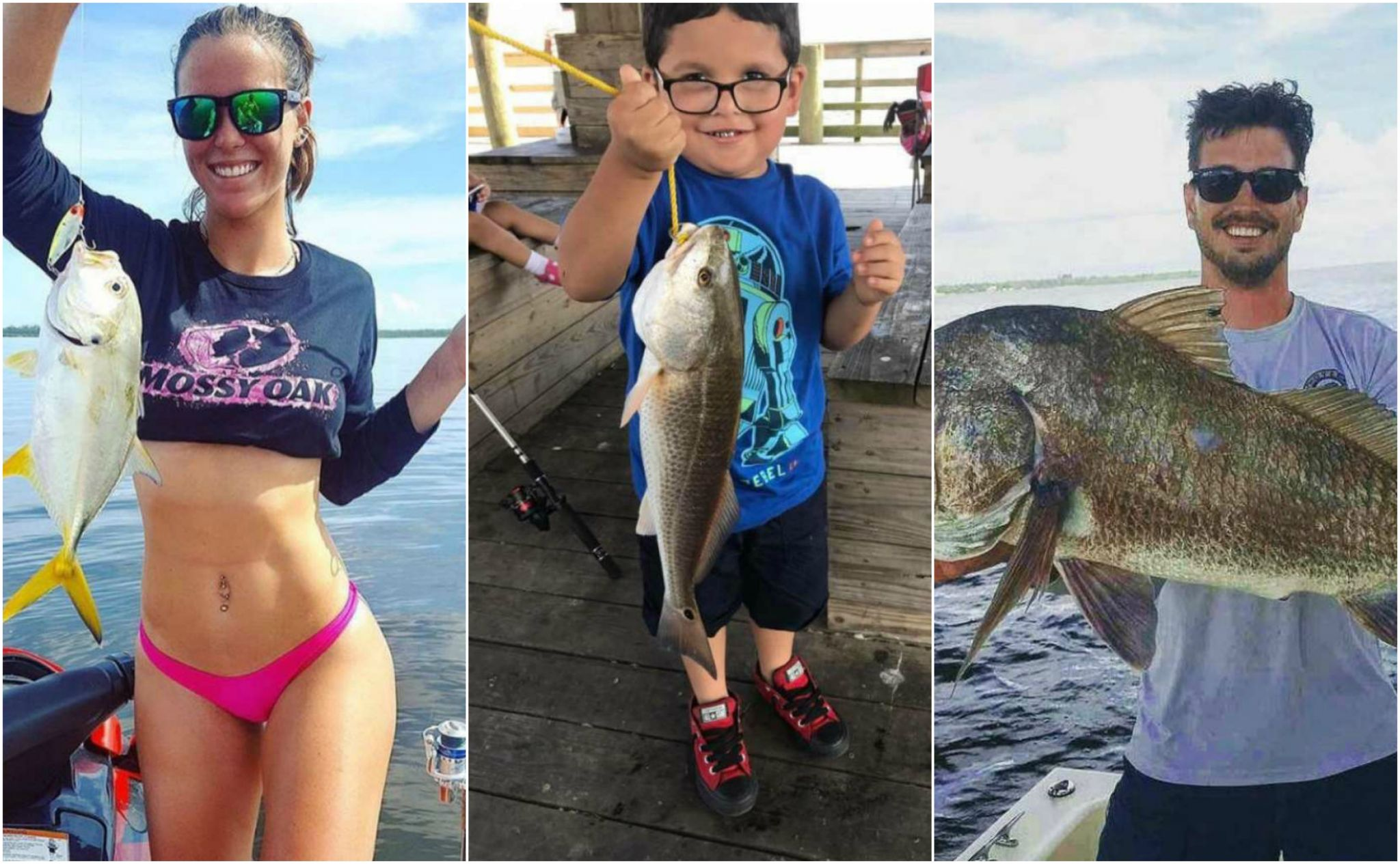 Photos texans show off their best and biggest catches for Sabine pass fishing report