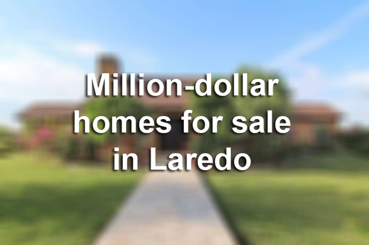Keep clicking through this gallery to get an inside look at million-dollar homes on the market in Laredo.