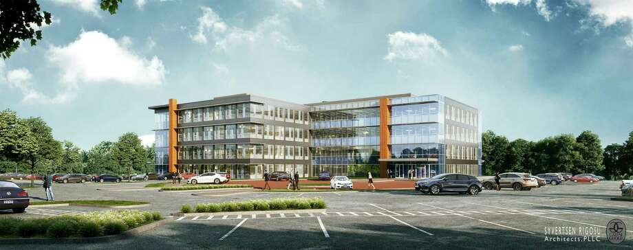 A rendering of the proposed Ayco headquarters in Colonie. Photo: Ayco