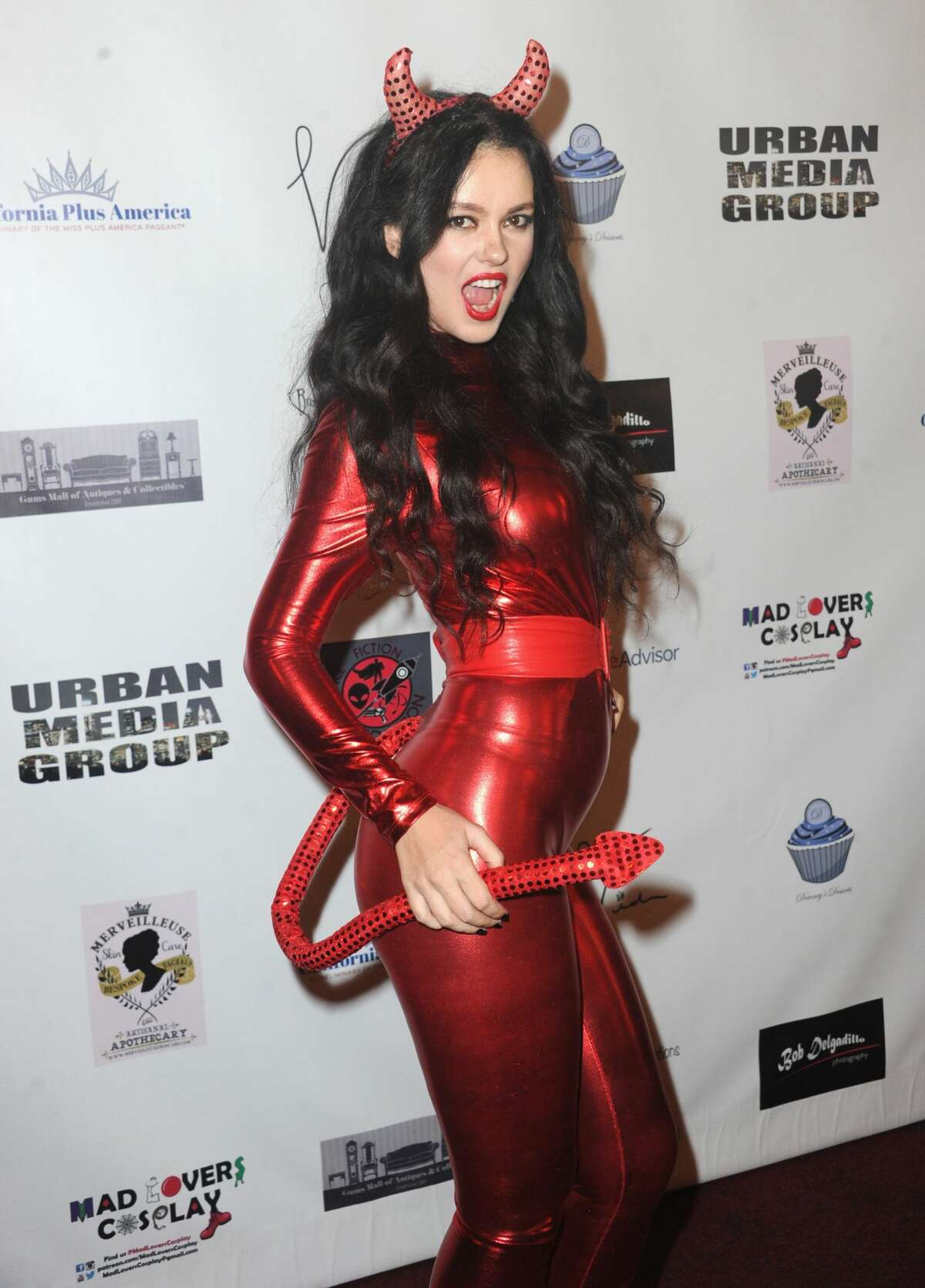 Actress Natasha Blasick attends Halloween Hotness 4: Heating Up For The Cure held at American Legion Hall on October 15, 2017 in Los Angeles, California.